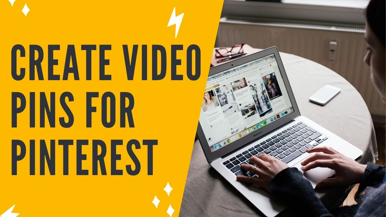 PINTEREST MARKETING: How To Create Video Pins For Pinterest - Pinterest Video Pins