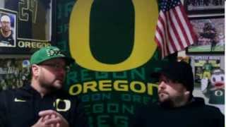 Oregon Ducks Reaction to Arizona Loss, Civil War, Pac12, College Football, NFL, and NBA.