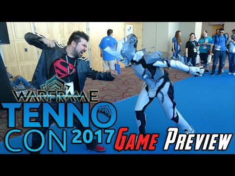 AJ's Tennocon 2017 - Warframe Plains of Eidolon Preview!