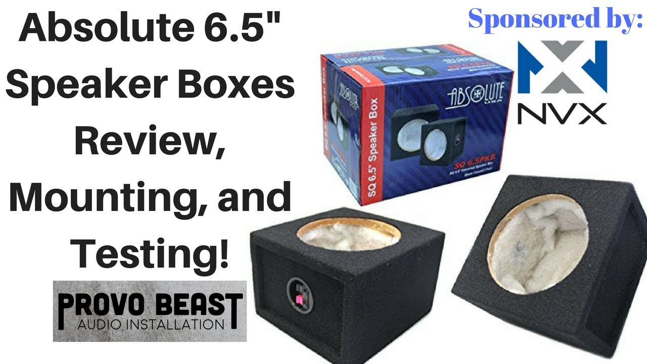 Absolute 65 Speaker Boxes Review And Testing