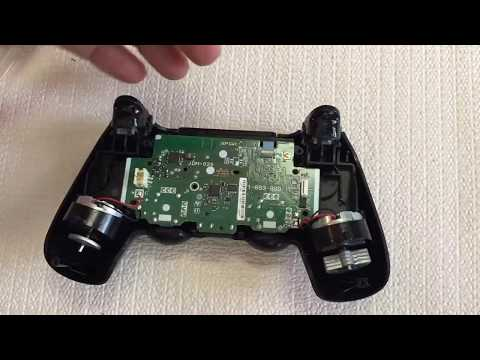How to remove broken headset piece on the ps4 controller