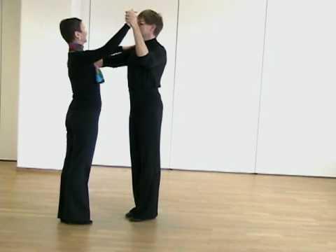 The frame in ballroom dancing - Dance Smart - YouTube