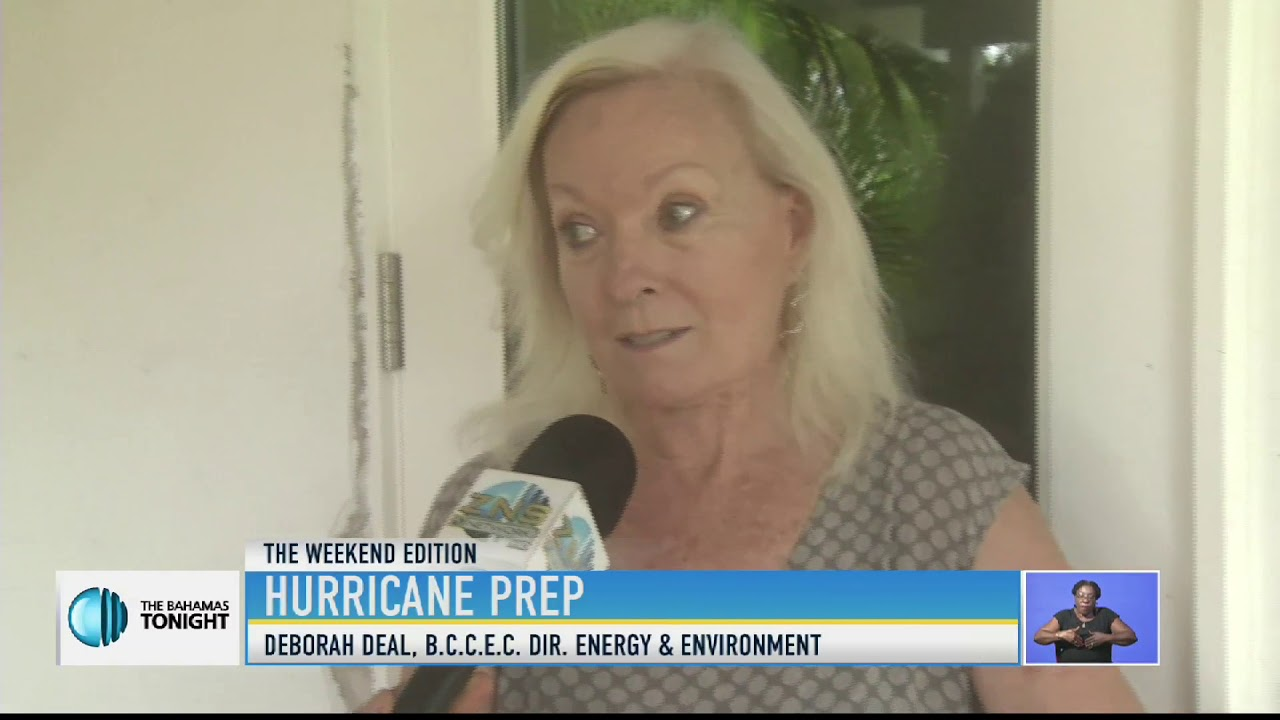 Hurricane Prep Tips - BCCEC Chair of the Energy & Environment Committee Deborah Deal