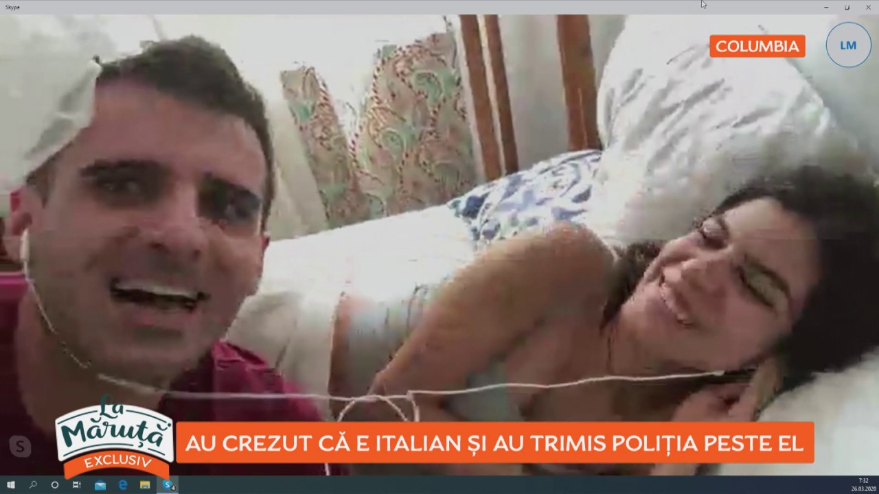La Măruță: BackPackYourLife, au crezut că e italian și au trimis poliția peste el