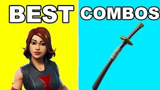 NEW BLACK WIDOW + BACKBLING COMBOS! | Best BackBling Skin Combos | Fortnite EndGame