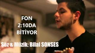 Bilal SONSES - İki Kelime Lyrics