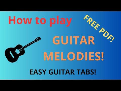 Guitar guitar tabs greensleeves : Free easy guitar tablature sheet music, Greensleeves - YouTube