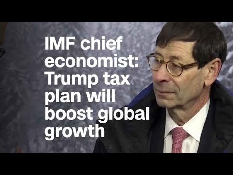 IMF chief economist: 'Effect of the tax cuts is comi...
