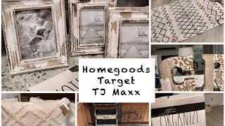 Homegoods, TJMaxx and Target Haul