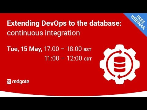 Extending DevOps To The Database Continuous Integration
