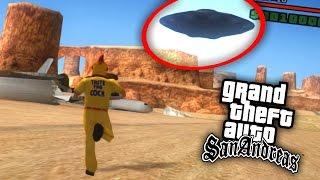 dios DE GTA, OVNI y ASESINO SERIAL! | GTA San Andreas Misterix Mod (Funny Moments)