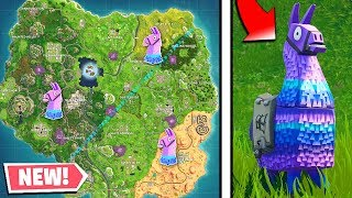 How To Find Llamas EVERY GAME In Fortnite! Fortnite Supply Llama Locations (Works 100%)