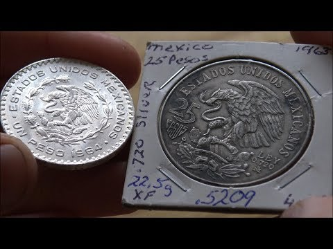 Lovely Silver Mexican Coins - In Focus Friday - Episode 117!