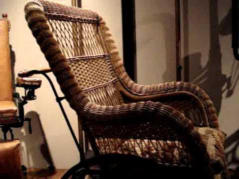 Antique Wicker Wheel Chair  YouTube