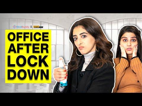 Alright!   Office After Lockdown Ft. Kritika Avasthi & Deepansha Dhingra