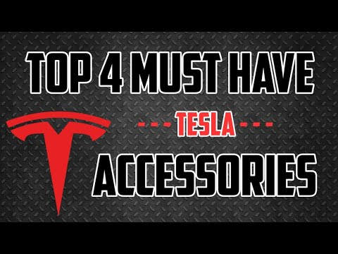 Repeat Top 4 Must Have Tesla Model 3 Accessories | New