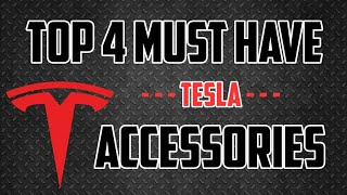 Top 4 Must Have Tesla Model 3 Accessories | New Owners Guide