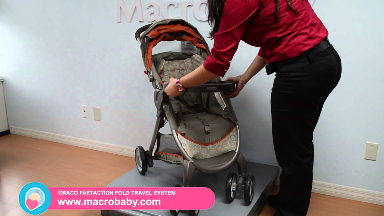 MacroBaby Graco Fastaction Fold Travel System
