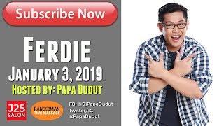 Barangay Love Stories January 3, 2019 Ferdie