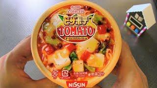 Pizza Potato Tomato Cup Noodles