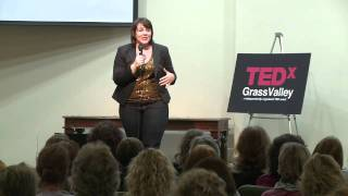 TEDxGrassValley - Jesse Locks - The Superwoman Syndrome