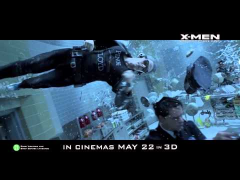 X-Men: Days of Future Past [Official Power Piece Clip - Quicksilver (HD 1080p)]