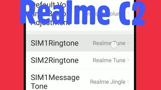 Realme C2 |  How To Change Ringtones & Select From Files Music