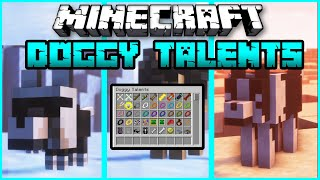 Doggy Talents  Mod 1.16.5 mods Forge 2021 Mods Showcase and how to Run the mod Best Minecraft Mod