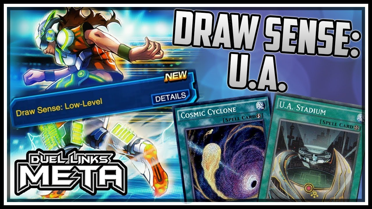 Download BUFFED Skill! Draw Sense: Ultra Athlete! [Yu-Gi-Oh! Duel Links]