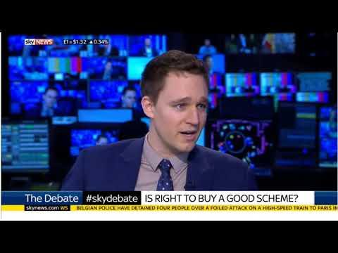 Daniel Mahoney talks 'Right to Buy' with Adam Boulton