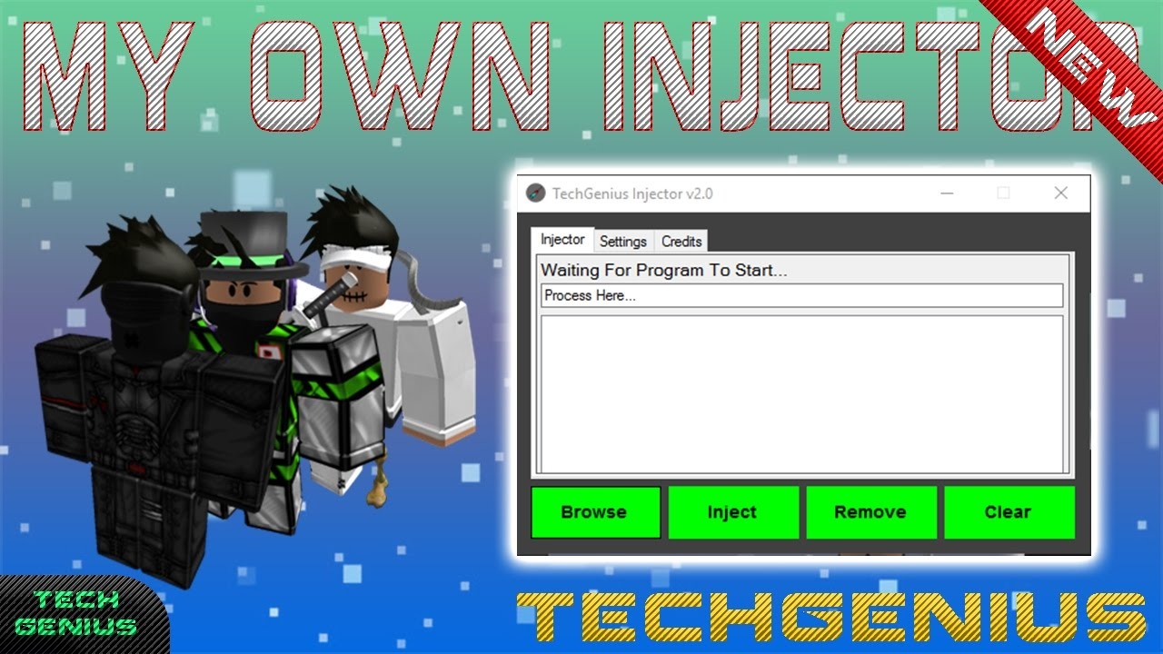 NEW DLL INJECTOR: TechGenius Injector V2 (UPDATED) NEW