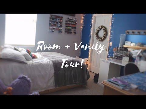 Room Tour + Vanity Tour | 2017