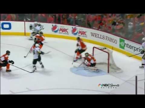 Pittsburgh Penguins - Philadelphia Flyers 10:3 ; 04.18.12. Game 4