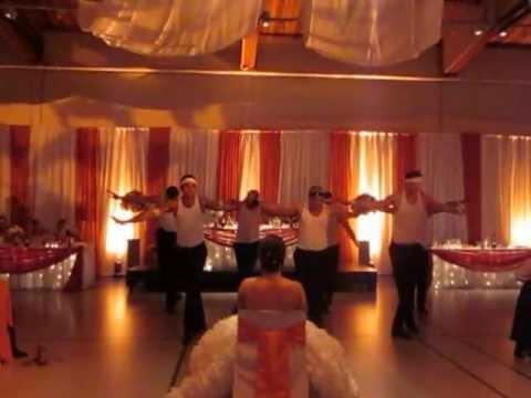 Amazing Backstreet Boys Wedding Dance