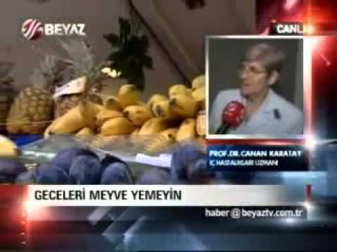 Geceleri meyve yemeyin! Ne zaman yememiz gerektiğini nedenleriyle Prof Karatay anlatıyor