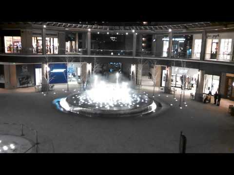 Fountain show in Salt Lake City