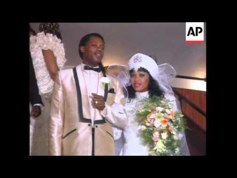 The Wedding Of Zinzi Mandela Reassures Supporters He Is In Good Health