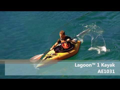 AE1031-O Lagoon1 kayak Setup Video