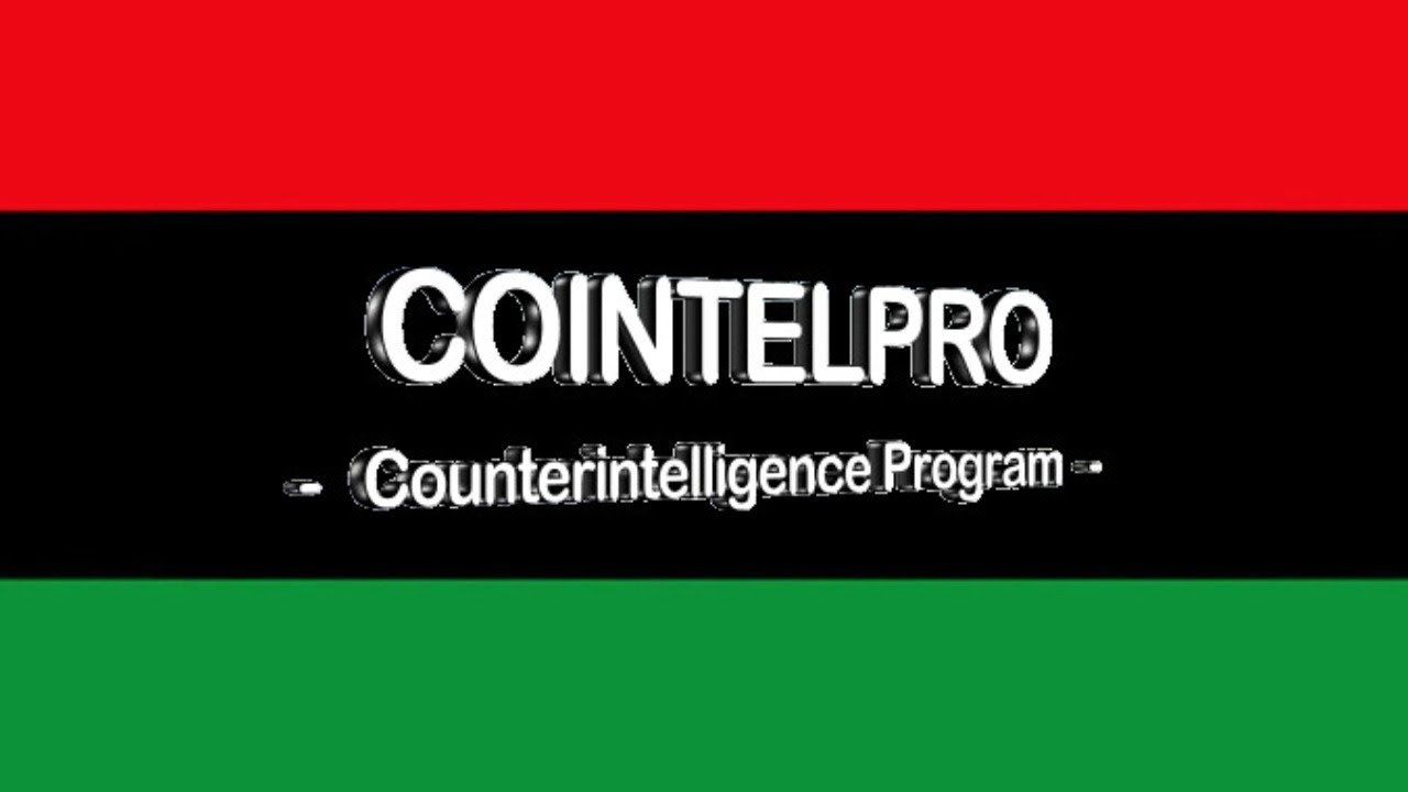 Black Conscious Scholarship Is Cointelpro
