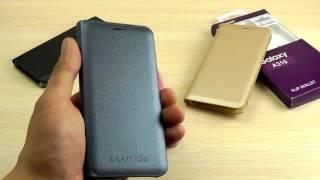 ОБЗОР: Оригинальный Чехол-Книжка Flip Wallet для Samsung Galaxy A3 (A310) 2016 года