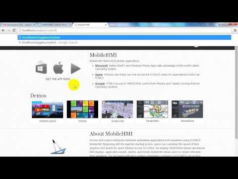 MobileHMI สร้างWeb Directoryเก็บไฟล์เอง