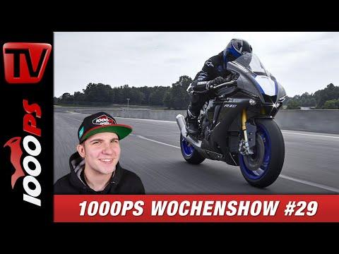 Yamaha YZF-R1 2020 und weitere News - 1000PS Wochenshow #29
