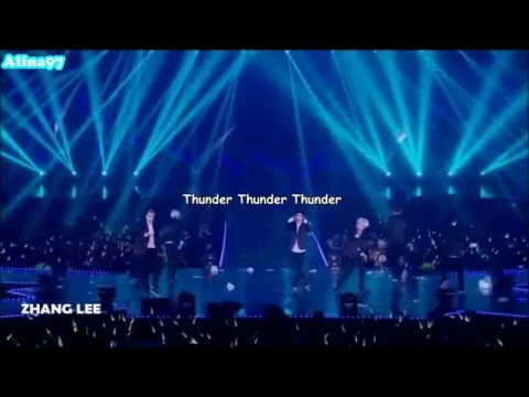 [INDO SUB KPOP] EXO - Thunder