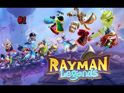 Прохождение Rayman Legends на русском языке 1 часть \ Игры про Реймана \ Ностальгия