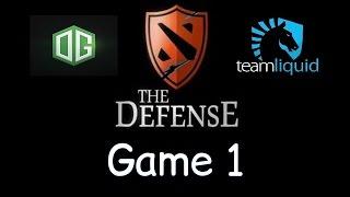 Liquid vs OG - Game 1 - The Defense Season 5 - Final Teamfights