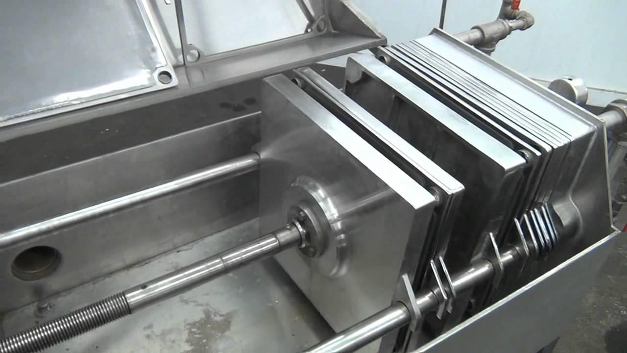 Used Ertel Vapor Master Enclosed Plate Amp Frame Filter