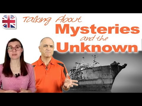 Talking About Mysteries & The Unknown in English - Spoken English Lesson