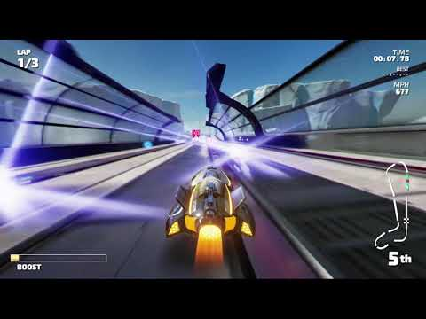 Lets Play FAST RMX Nintendo Switch gameplay Ep14 HyperSonic Thorium