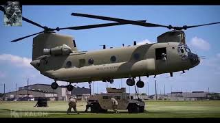 CH 47  The Ultra Strong Heavy Lift Helicopter On Earth  U S Military 2018