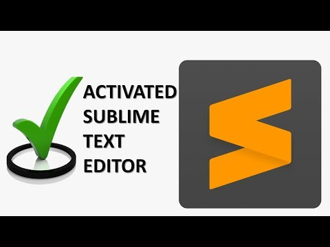 Active Sublime Text Editor 3   Life Time Crack Sublime Text Editor 3.2.2 Build 3211